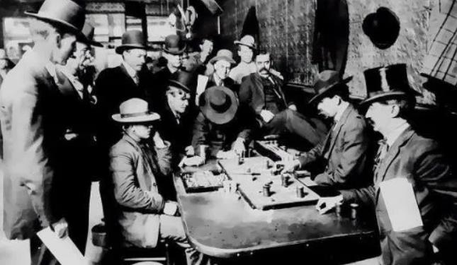 The Origins of Poker in the United States